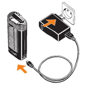 Crafty Vaporizer charging