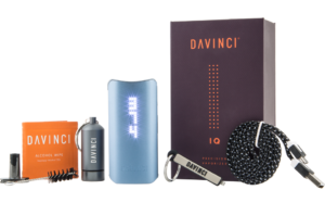DaVinci IQ Vaporizer unboxed package contents