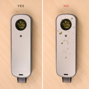 Firefly 2 Vaporizer Packing The Heating Chamber with Loose Leaf