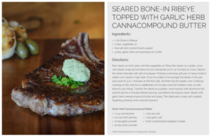 Herb Mastering the Art of Cooking with Cannabis Seared Bone-in Ribeye