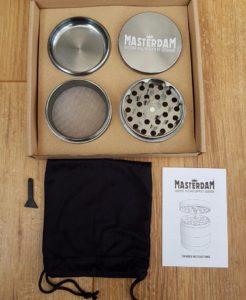 Masterdam 4 Piece Grinder Box