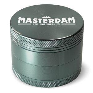 Masterdam 4 piece grinder large gunmetal color