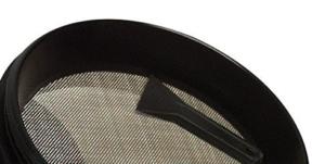 Platinum Grinder 4 Piece Grinder screen and scraper