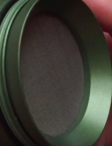 SLX 4 piece non-stick grinder screen