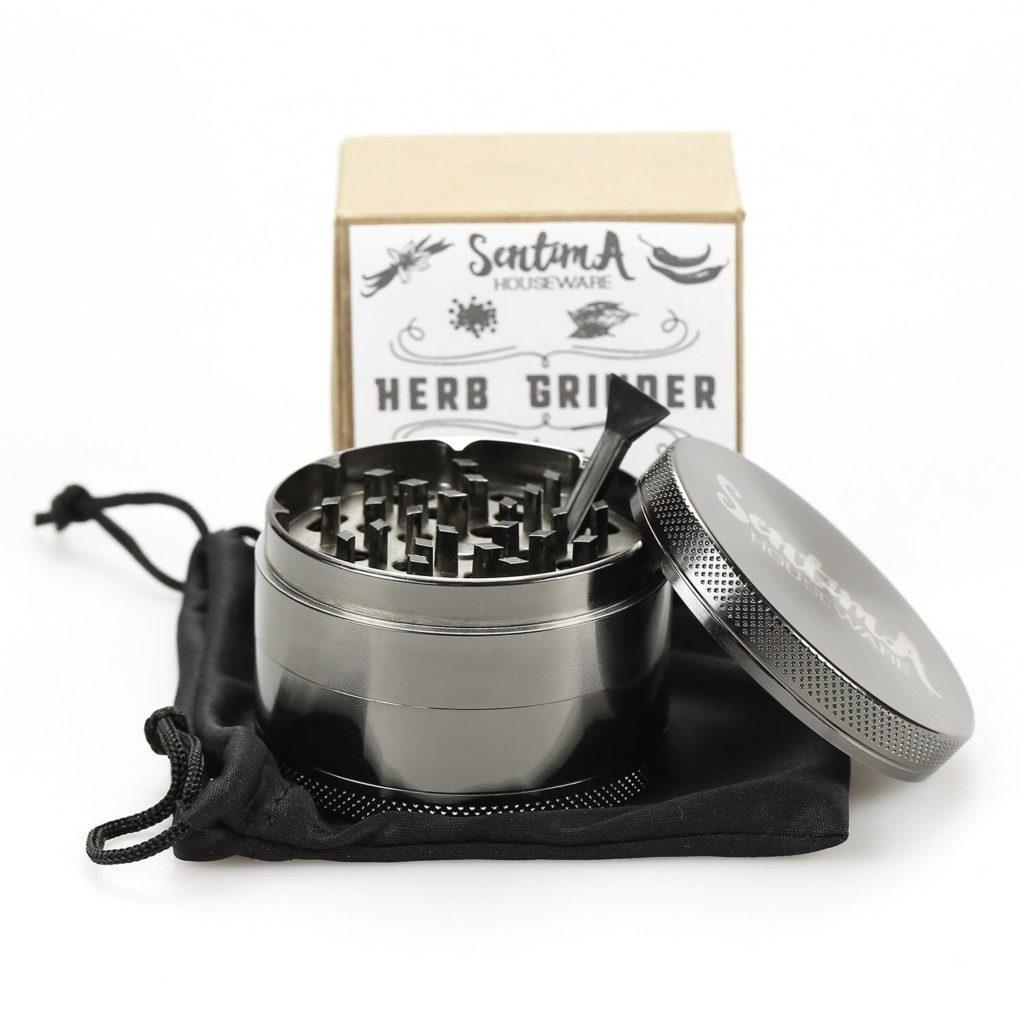 sentina zinc crusher 4 piece grinder
