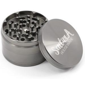 Sentima 4 piece grinder shredding compartment