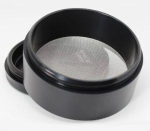 space case 4 piece medium size titanium grinder second compartment screen